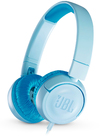 JBL JR300 On-Ear Headphones for Kids (Blue)