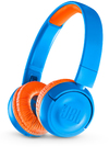 JBL JR300BT On-Ear Wireless Headphones for Kids (Rocker Blue)