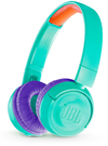 JBL JR300BT On-Ear Wireless Headphones for Kids (Teal)