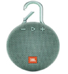 JBL Clip 3 3.3 watt Wireless Portable Speaker (Teal)