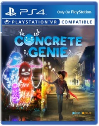 Concrete Genie (PS4) - Cover