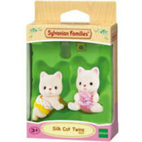 Sylvanian Families - Silk Cat Twins Playset