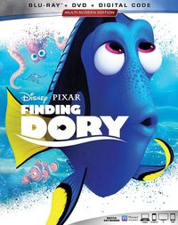 Finding Dory (Region A Blu-ray) - Cover