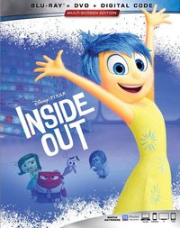 Inside Out (Region A Blu-ray) - Cover