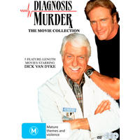 Diagnosis Murder: the Movie Collection (Region 1 DVD)