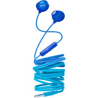 Philips UpBeat In-Ear Earbud Headphones (Blue)