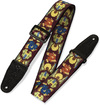 Levys MP-25 Print Series 2 Inch Polyester Guitar Strap with Printed Design (Floral)