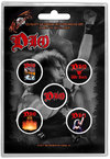 Dio - We Rock Button Badge (Set of 5)