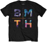 Bring Me The Horizon - Colours Men's T-Shirt - Black (Small) - Cover