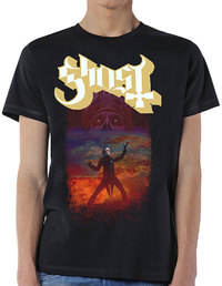 Ghost - EU Admat Men's T-Shirt - Black (X-Large) - Cover