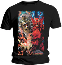 Iron Maiden - Duality Men's T-Shirt - Black (Large) - Cover