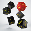 Q-Workshop - Set of 6 D6 Dice - Batman Miniature Game - Batman Set