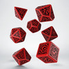 Q-Workshop - Set of 7 Polyhedral Dice - Call of Cthulhu The Outer Gods Nyarlathotep