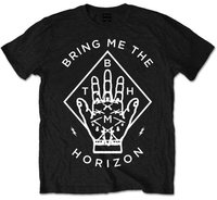 Bring Me The Horizon - Diamond Hand Men's T-Shirt - Black (Medium) - Cover