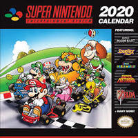 Pyramid International - Super Nintendo (Calendar) - Cover