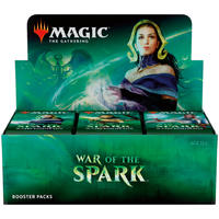 Magic: The Gathering - War of the Spark Single Booster - Japanese (No English Text) (Trading Card Game)