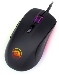 Redragon - STORMRAGE 10000DPI 7 Button RGB Gaming Mouse - Black - Cover