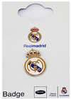 Real Madrid - Round Crest Pin Badge