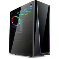 Redragon -TAILGATE Tempered Glass RGB ATX Gaming Chassis