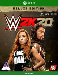 WWE 2K20 - Deluxe Edition (Xbox One) - Cover