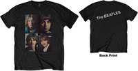 The Beatles - White Album Faces Men's T-Shirt - Black (Small) - Cover