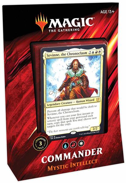 Magic: The Gathering - Commander 2019 Deck - Mystic Intellec (Trading Card  Game)