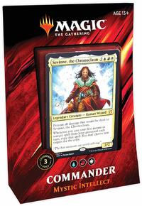 Magic: The Gathering - Commander 2019 Deck - Mystic Intellec (Trading Card Game) - Cover