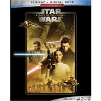 Star Wars: Attack of the Clones (Region A Blu-ray)