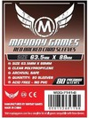 Mayday Games - TCG/CCG Card Sleeves - Red Backed (80 Sleeves)