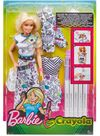 Barbie - Crayola Color In Fashion Doll