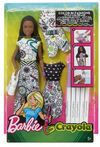 Barbie - Crayola Color In Fashion African American Doll
