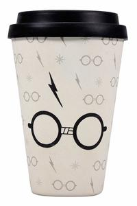 Harry Potter - Glasses and Scar (Bamboo) Travel Mug - Cover