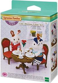 Sylvanian Families - Chic Dining Table Set (Playset) - Cover
