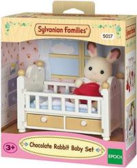 Sylvanian Families - Chocolate Rabbit Baby Set - Cover