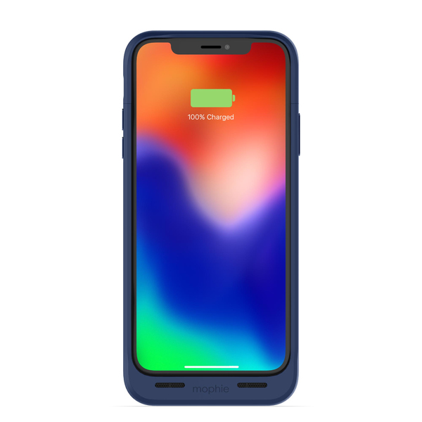 Zagg Mophie Juice Pack Air Iphone X Blue Electronics Online Raru Zagg is a mobile accessory company that makes all kinds of devices from keyboards to cases, while mophie is best known as the maker behind the popular phone battery case. zagg mophie juice pack air iphone x blue