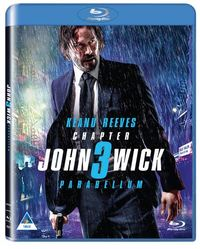 John Wick Chapter 3: Parabellum (Blu-ray) - Cover