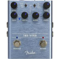 Fender Tre-Verb Digital Reverb and Tremolo Electric Guitar Effects Pedal