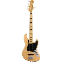 Squire Classic Vibes '70s Jazz Bass V Guitar (Natural)