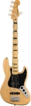 Squier Classic Vibes '70s Jazz Bass V Guitar (Natural)