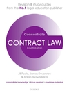 Contract Law Concentrate : Law Revision and Study Guide - Adam Shaw-Mellors (Paperback)