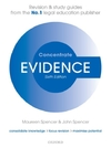 Evidence Concentrate : Law Revision and Study Guide - John Spencer (Paperback)