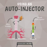 Using An Autoinjector - Harriet Brundle (Hardcover) - Cover