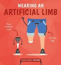 Wearing An Artificial Limb - Harriet Brundle (Hardcover) - Cover