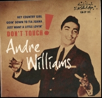 Andre Williams - Don't Touch EP (Vinyl) - Cover
