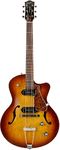 Godin 5th Avenue Kingpin II Hollowbody Electric Guitar (Cognac Burst)