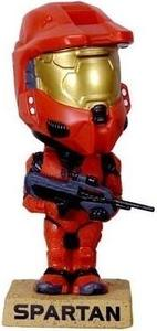 Funko Pop! Games - Wacky-Wobbler Halo 3 Spartan Soldier (Red) - Cover