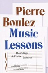 Music Lessons - Pierre Boulez (Hardcover)