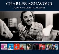 Charles Aznavour - Nine Classic Albums (CD) - Cover