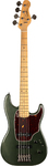 Godin Shifter Classic 5 5-String Bass Guitar with Gig Bag (Desert Green)