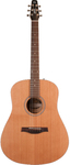 Seagull S6 Original Left QIT Left-Handed Acoustic Electric Guitar with Gig Bag (Natural)